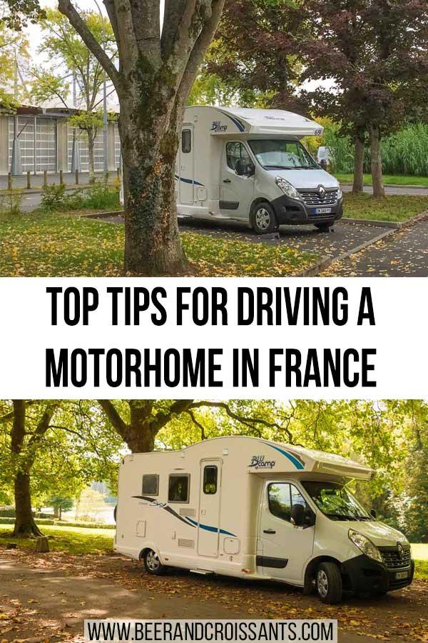 MOTORHOMES IN FRANCE