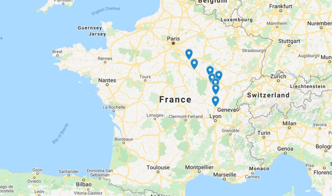 broader france map