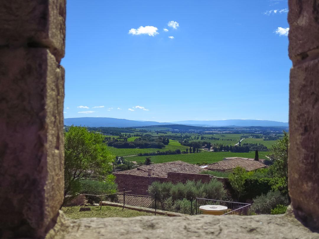 Châteauneuf castle view
