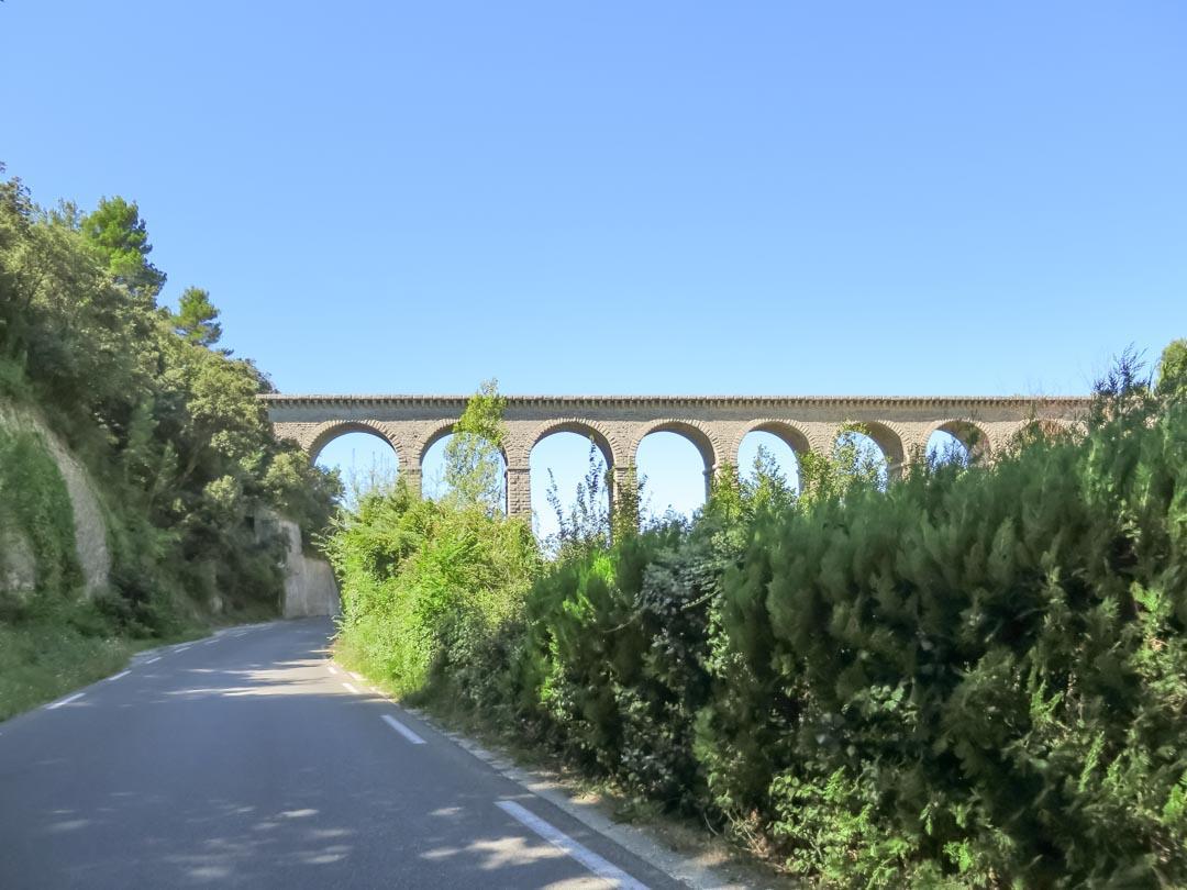 The Galas Aqueduct Bridge