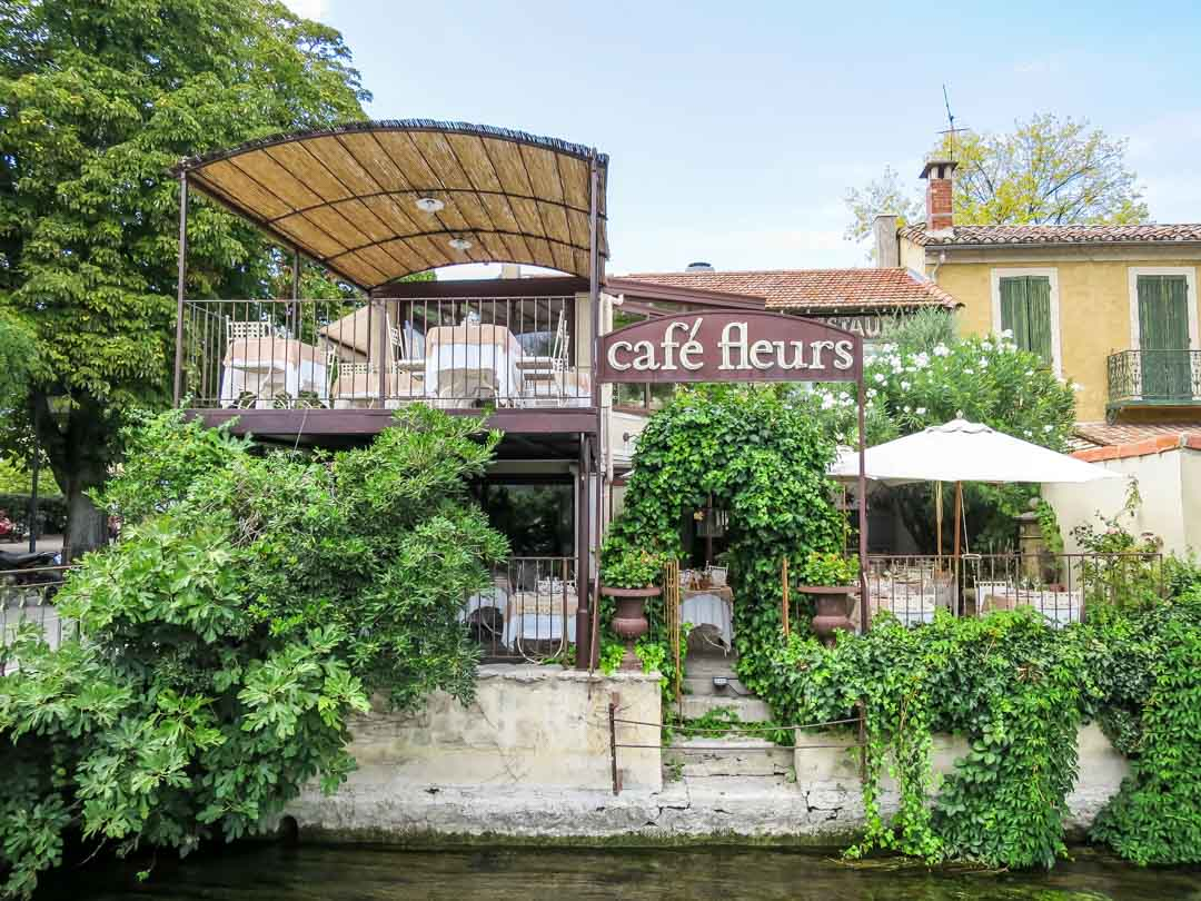 cafe le fleurs in provence