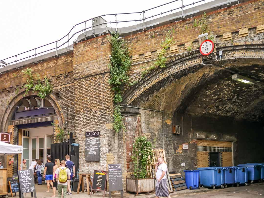maltby street market london trading under the bridge