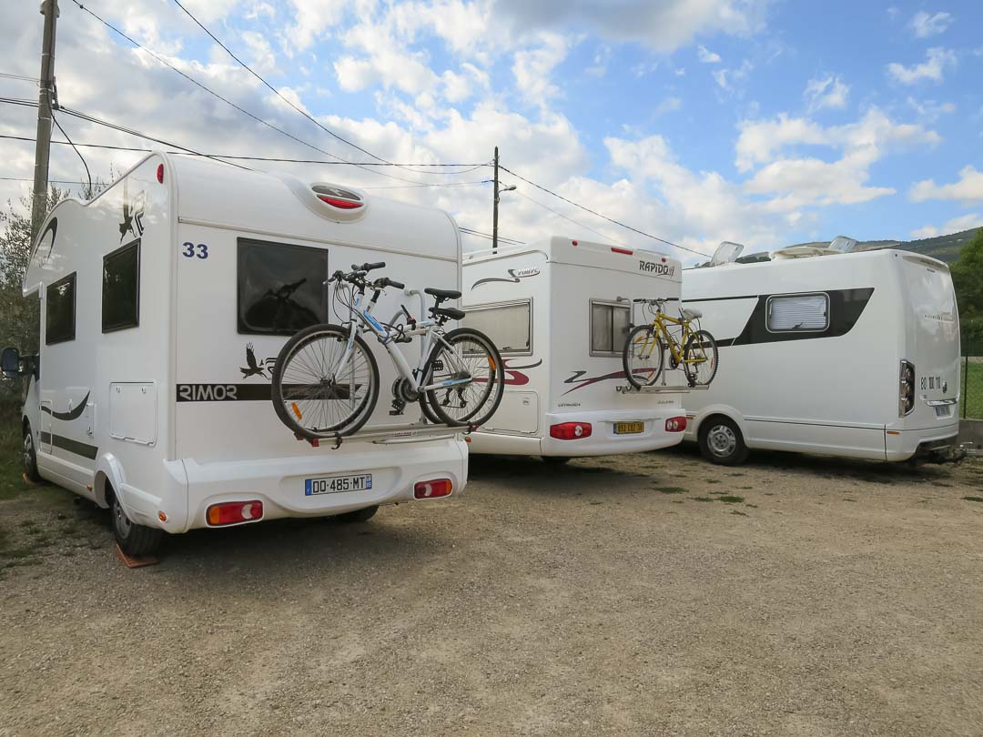 motorhomes at grasse