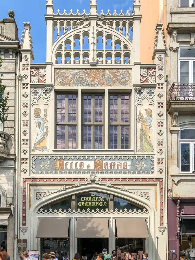 Livrania Lello Bookstore Porto