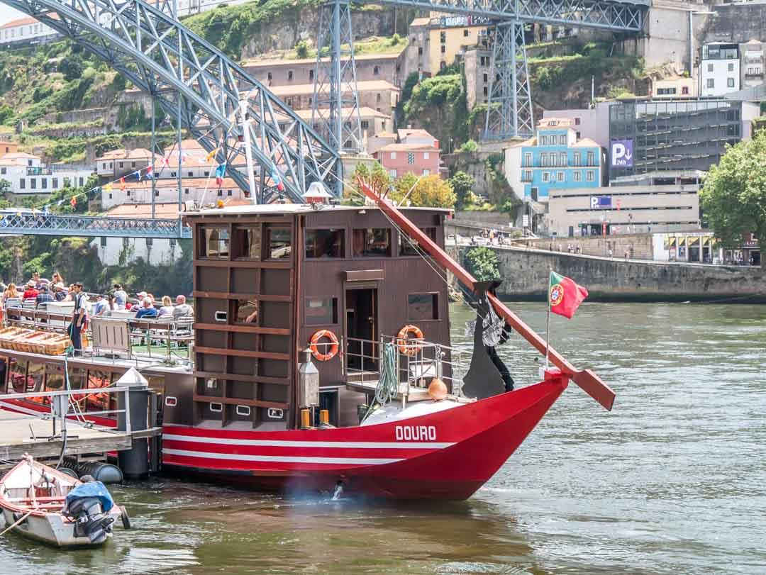 rabelo boat portugal