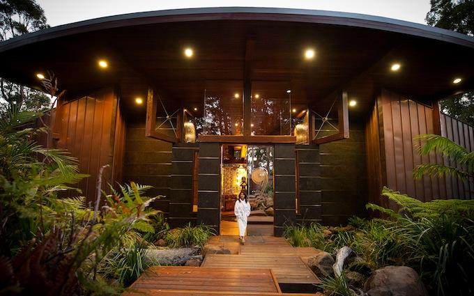 Gwinganna Spa Sanctuary entry