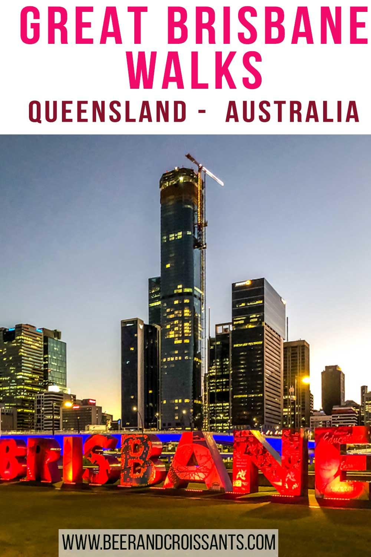 Brisbane walks in Brisbane inner city