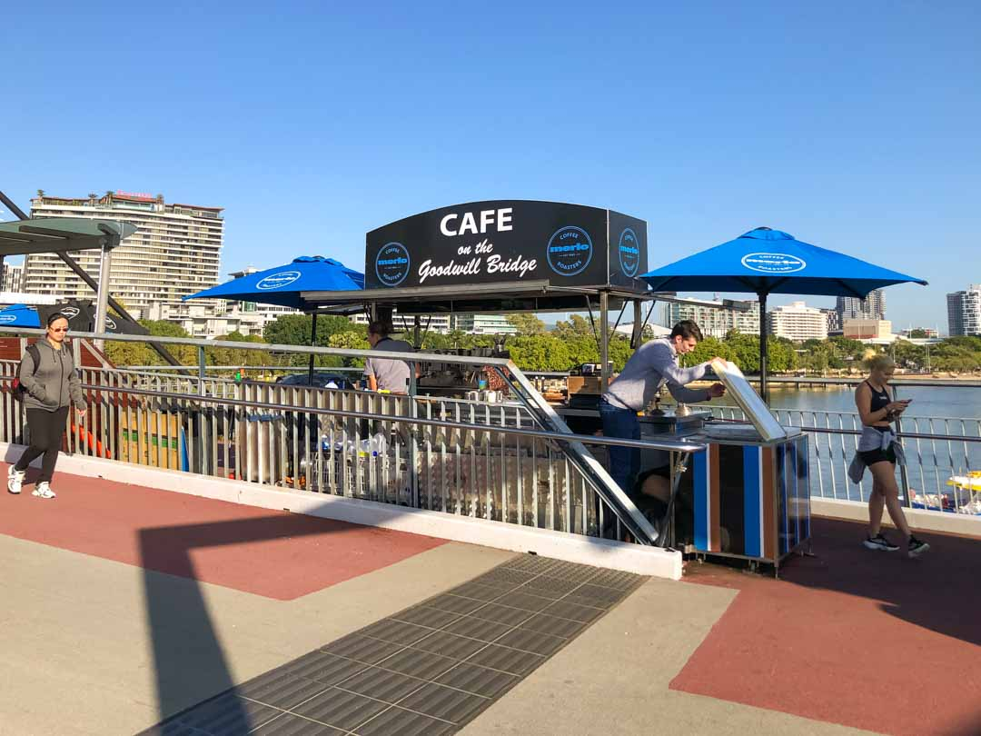 Cafe on the Goodwill Bridge
