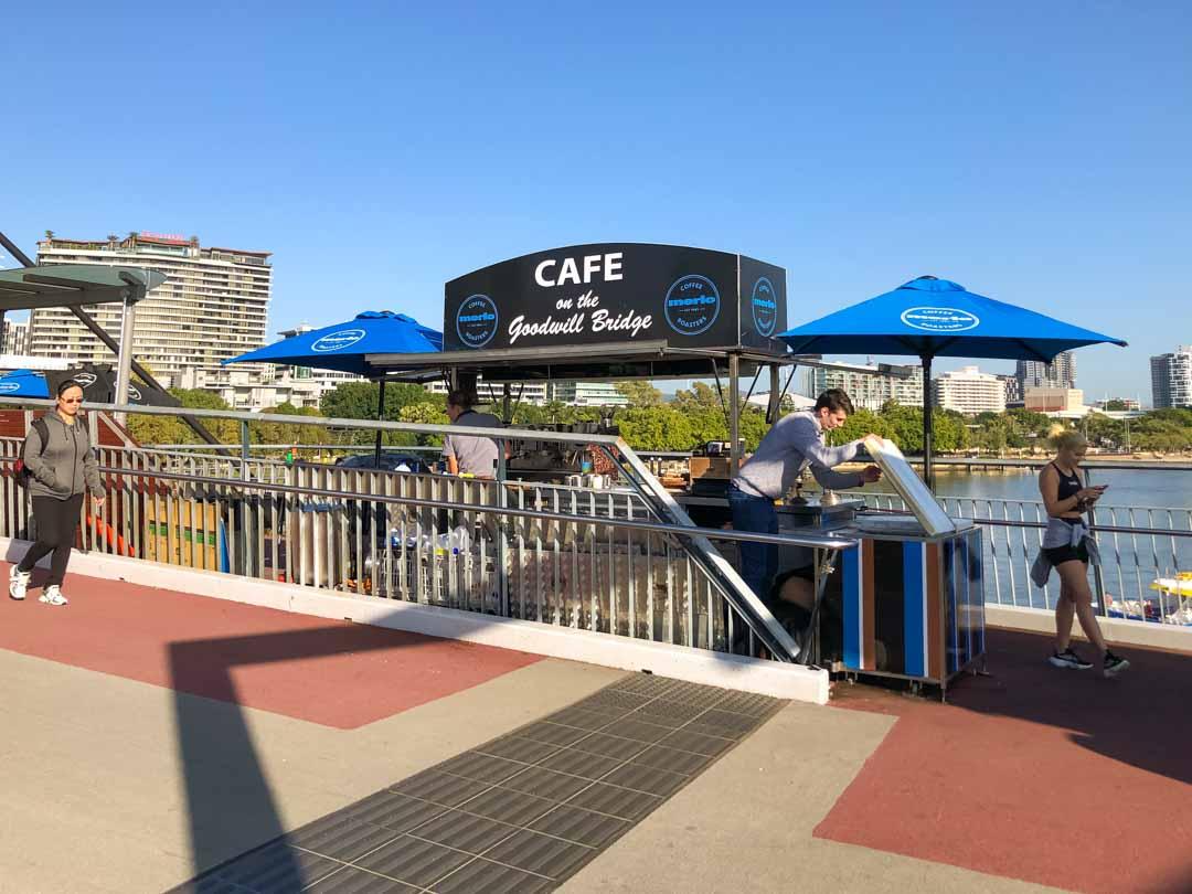 Cafe on the Goodwill Bridge