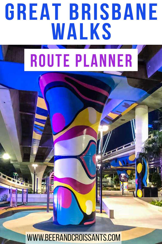 route planner Brisbane walks